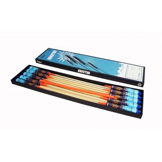 Blättertanz-Rakete Blau